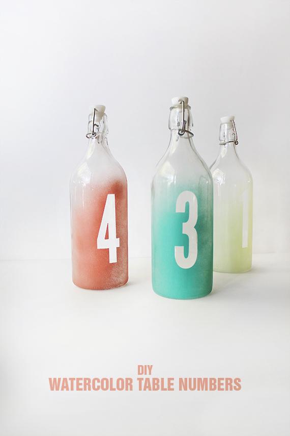 tutorial boda numeros mesa botellas diy (1)