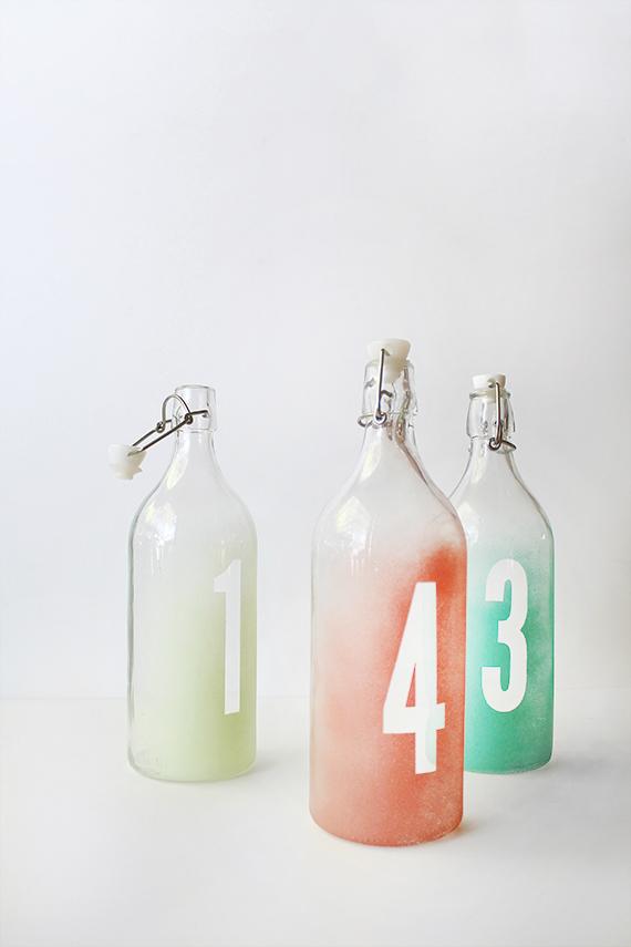 tutorial boda numeros mesa botellas diy (6)