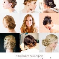 9 peinados DIY para una boda