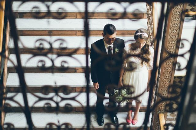 boda intima ciudad urbanita novia de corto (1)