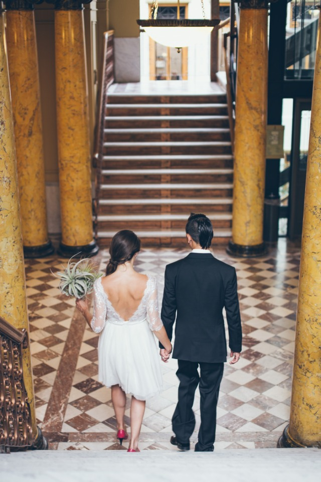 boda intima ciudad urbanita novia de corto (14)