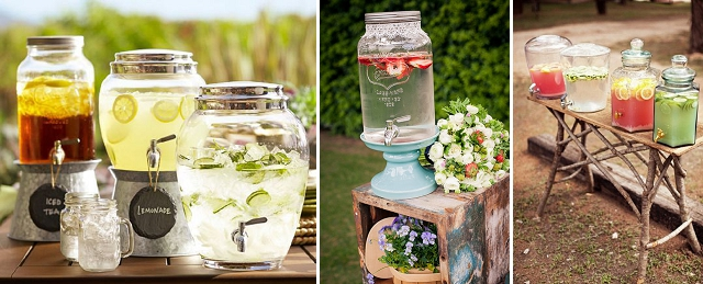 dispensador bebida barra decoración boda (2)