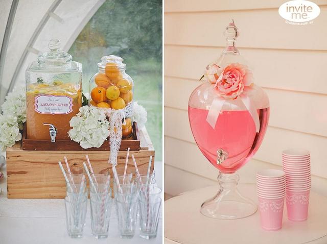 dispensador bebida barra decoración boda (3)