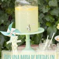 Dispensadores de bebidas para tu boda