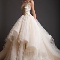 Los fabulosos vestidos de novia de Krikor Jabotian